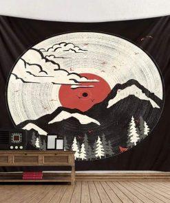 Japanische Dekorative Tapete