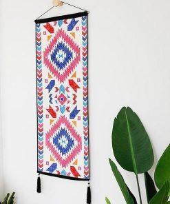 Langer aztekischer Wandteppich