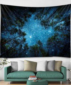 Sternenhimmel Wandbehang