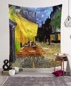 Wandbehang eines Malers