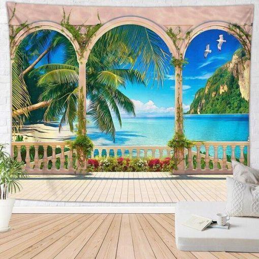 Palm Tree Wandbehang